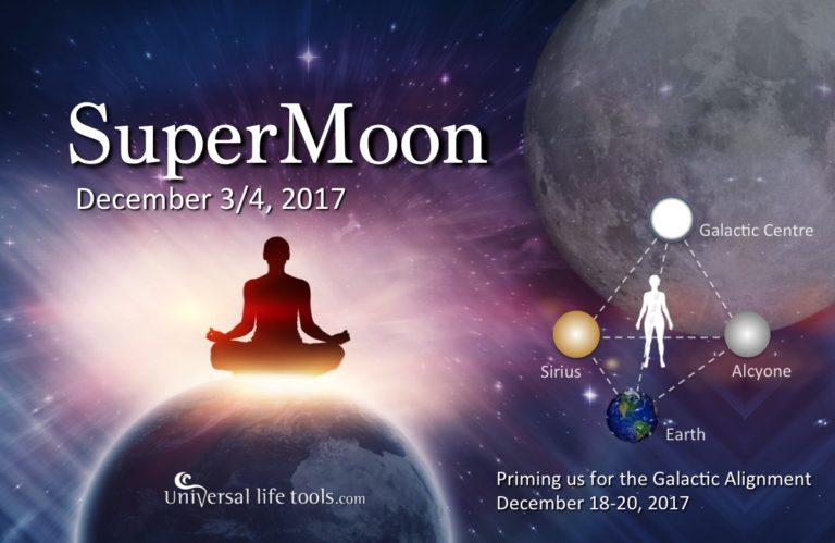 Super Luna Plina in Gemeni – 3 decembrie 2017